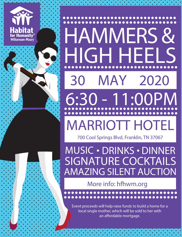 Events Franklin Tn May 2020.Hammers And High Heels