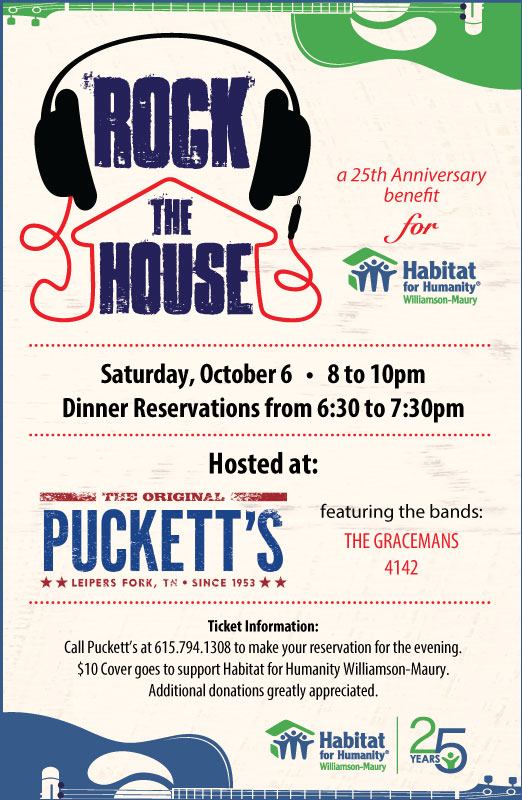 Rock the House for Habitat