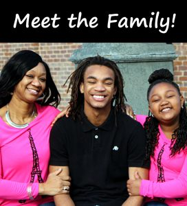 Vanesia Brown and Family