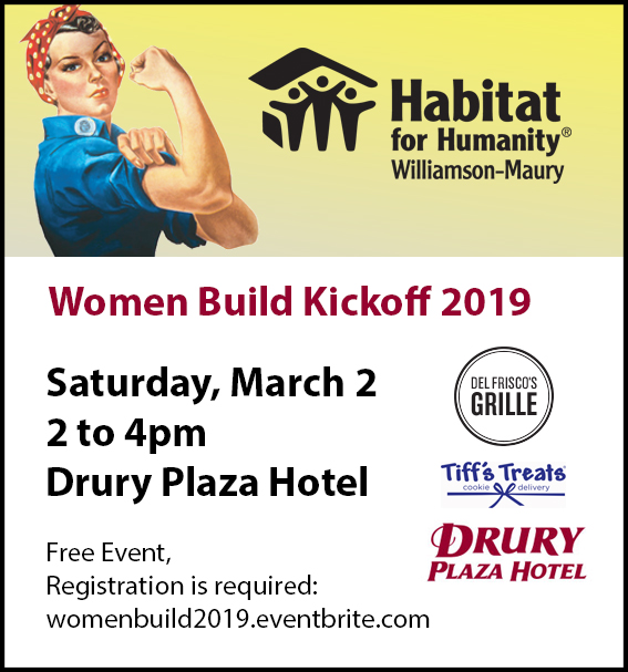 2019 Women Build Kickoff