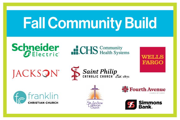 Fall Community Build Sign