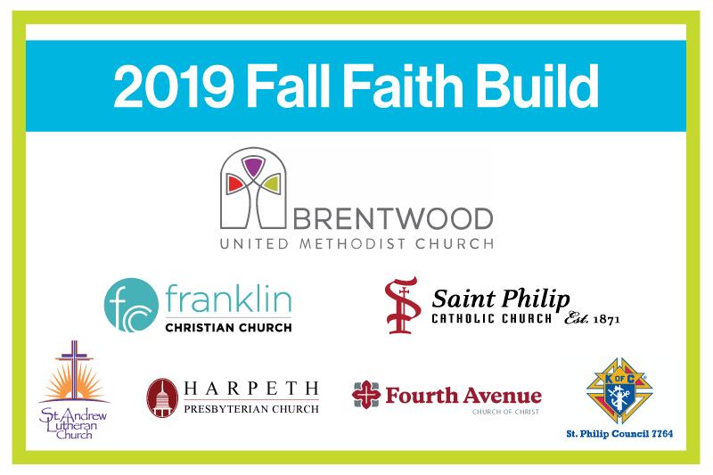 2019 Fall Faith Build