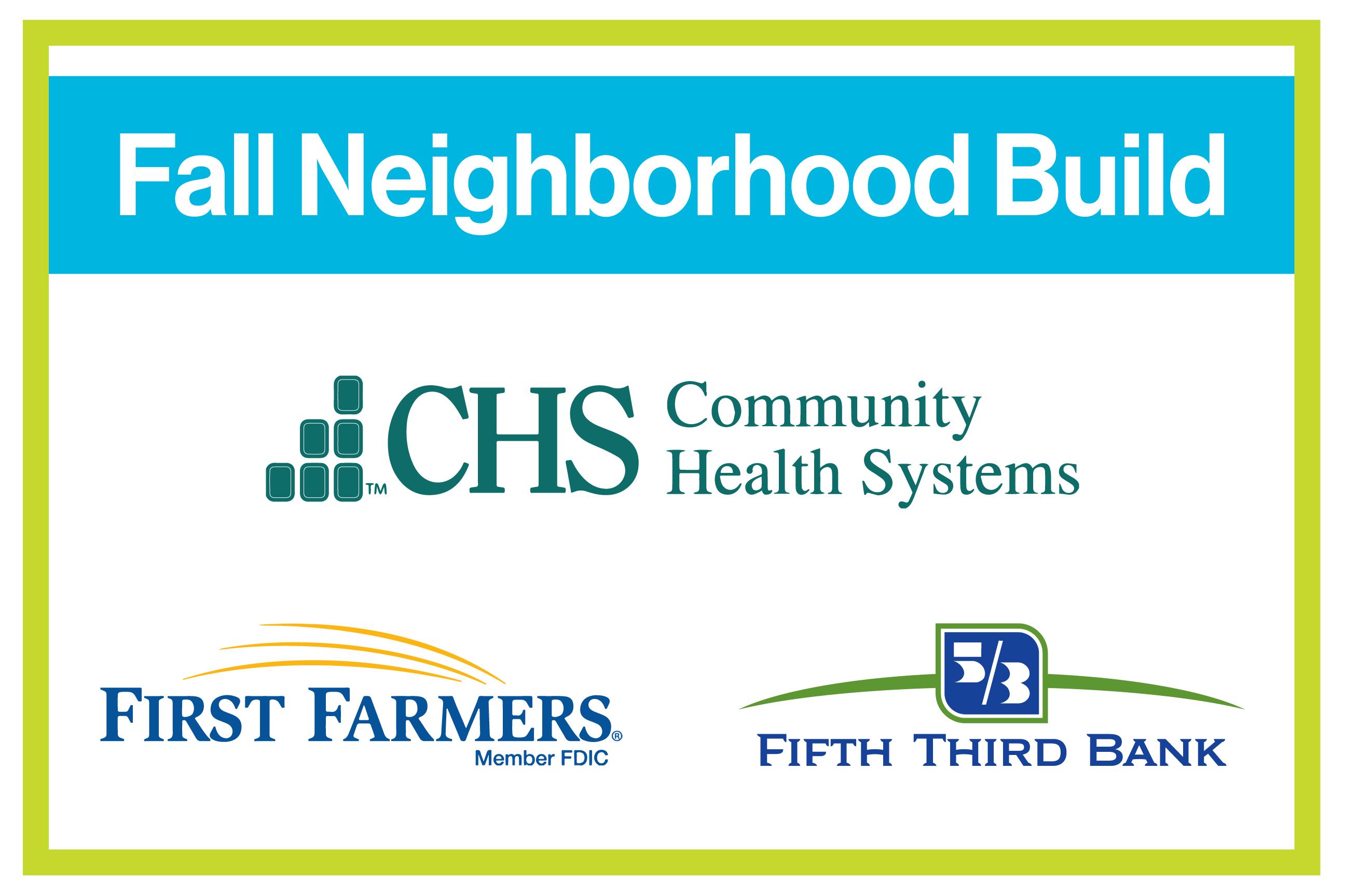 Fall Neighborhood Build