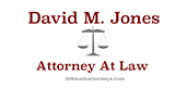 David M. Jones - Donor