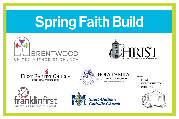 Spring Faith Build Sign